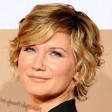hairstyles for fine curly hair short hairstyles for older women