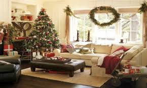 christmas room decor pottery barn christmas living room ideas