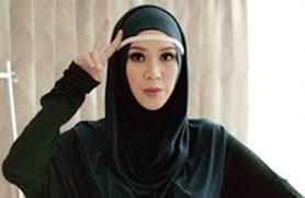 tutorial hijab paris zaskia tutorial hijab pashmina ala zaskia adya mecca 2 hijab pinterest