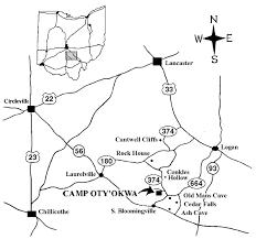 Driving Map Driving Directions U2013 Camp Oty U0027okwa