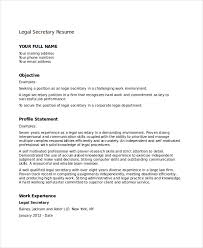Resume For Secretary Job by Secretary Resume Templates Top 8 Executive Secretary Resume