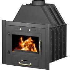 burning fireplace insert skladova tehnika model uyut b heat