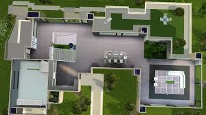 futuristic house floor plans mod the sims long waterside futuristic house
