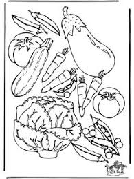 healthy plate coloring page vegetables picture to print and color educational coloring pages