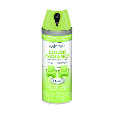 shop valspar color radiance sonic lime enamel spray paint actual