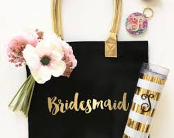bridesmaids gift bags bridesmaid gift bag etsy