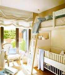 Loft Bed With Crib Underneath Shared Room With Loft Bed And Crib The Bed Rooms