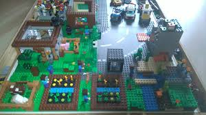 minecraft ribbon custom lego minecraft house home diy