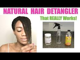 detangling marley hair diy hair detangler apple cider vinegar coconut oil requested
