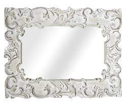 ornate bathroom wall mirror