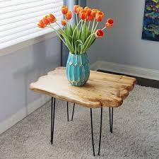 Wood Stump Coffee Table Tree Stump Coffee Table Wayfair