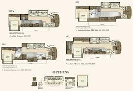 5th wheel floor plans fleetwood rv floor plans fleetwood southwind class a motorhome