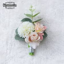 boutonniere flower kyunovia wedding prom boutonniere flower brooch corsage