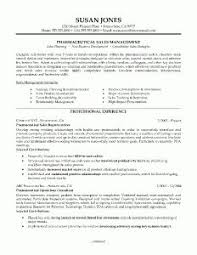Sales Sample Resume by Sample Resume For Pharmaceutical Industry Sample Resume For