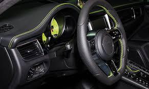 2017 porsche macan turbo interior porsche macan turbo tuned to 450 hp by techart autoevolution