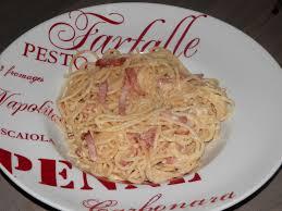 comment cuisiner des pates spaghetti carbonara un amour de cuisine