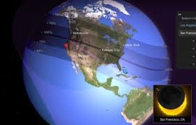 solar eclipse 2017 times across california when you can see the