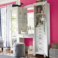 Pb Teen Bedrooms Hampton Vanity Tower U0026 Super Set Pbteen