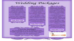 wedding planner packages the best wish wedding planner marketing mix of the best wish