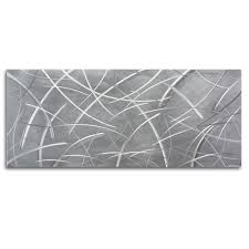 ultra modern art earthy metal wall sculpture u0027tenuous