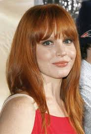hairstyles with bangs and middle part 19 lauren ambrose hairstyles to inspire you beauty epic
