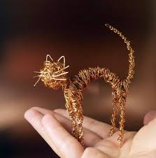 How To Make Jewelry Out Of Wire - meow for those who loves cats cat lovers kitty and wire art