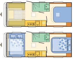static caravan floor plan 2017 adria alpina missouri 613 uc caravan review caravan guard