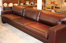 furniture best brown leather sofa by bellini as well sleeper