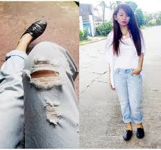 Forever 21 Ripped Jeans Guerlain Cotanas Forever 21 Ripped Jeans Thrifted Camisole