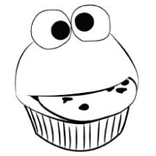ideas cupcake coloring pages print free download