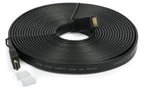 5 Meters To Feet by Maxicom Flat Hdmi Cable V1 4 1080p 5 Meters 15 Feet Male Male