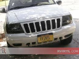 jeep grand cherokee vinyl wrap rshield jeep grand cherokee 1999 2003 headlight protection kits