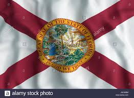 Floridas State Flag 3d Rendering Of A Florida State Flag Stock Photo Royalty Free
