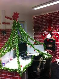 Desk Ideas For Office Christmas Work Desk Pod Decorations Under The Christmas Tree