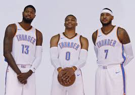 thunder stars will help bench as much as starting lineup