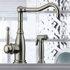 mico 7856 cp mico single handle kitchen faucet with side spray