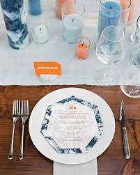 Table Setting by 18 Creative Ways To Set Your Reception Tables Martha Stewart