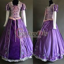 custom made movie tangled rapunzel princess dress deluxe