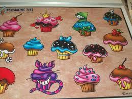 38 best cupcake tattoo flash images on pinterest cupcake tattoos