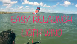 best light wind kite 2017 how to relaunch your kite with light wind