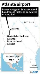 Hartsfield Jackson Airport Map L U0027aéroport D U0027atlanta Le Plus Gros Du Monde Paralysé Par Une