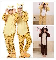 adorable unisex winter flannel pajamas panda