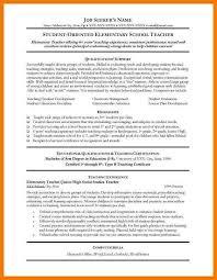 Online Instructor Resume Sample Elementary Teacher Resume Lukex Co