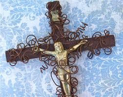 catholic wall crucifix wall crucifix etsy