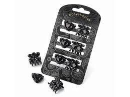 claw clip black mini heart flower claw clip cls buy 1 get 1 free