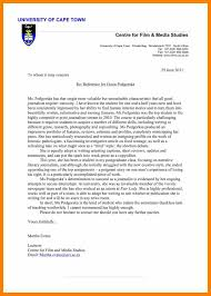 film resume examples best solutions of sample of university admission reference letter awesome collection of sample of university admission reference letter about example
