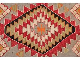 Oriental Decor Red Hand Woven Turkish Kilim Carpet Large Kilim Rug Bohemian