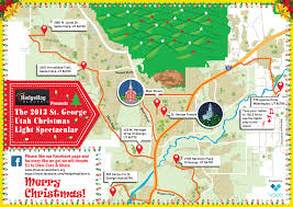 Dixie State University Map How To Find The Best Christmas Lights In Town U2013 St George News