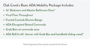 mobility homes ada friendly home designs