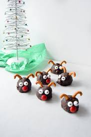 rudolph oreo cookie balls gift box tutorial free printable